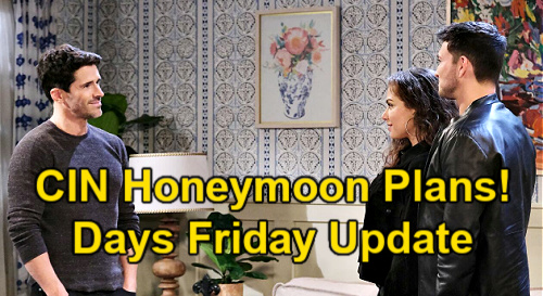 Days of Our Lives Spoilers: Friday, September 3 Update – Ben's Honeymoon Surprise – EJ Infuriates Nicole – Justin Grills Calista