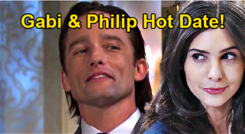 Days of Our Lives Spoilers: Gabi & Philip's Steamy Dinner Date – Jake & Kate Furious Over Hot Night Out