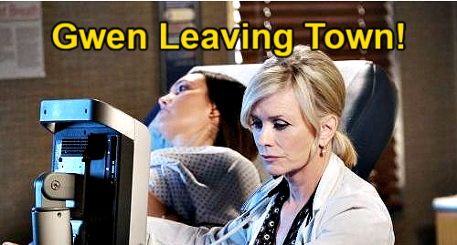 Days of Our Lives Spoilers: Gwen Decides Take Baby and Leave Salem – Done with Abigail & Deveraux Family Drama