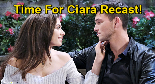 Days of Our Lives Spoilers: Is It Time to Recast Ciara? – 'Cin' Fans Love Victoria Konefal, But Ben Needs Wife Back For Good
