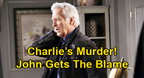 Days of Our Lives Spoilers: John Blamed For Charlie's Gruesome Murder – Killer Beast Unleashed or Cover-Up for Real Culprit?