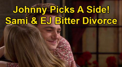 Days of Our Lives Spoilers: Johnny DiMera Picks a Side in EJ & Sami's Bitter Divorce