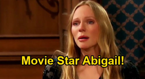 Days of Our Lives Spoilers: Johnny's Movie Star Plans for Abigail – Chad's Next Marriage Complication