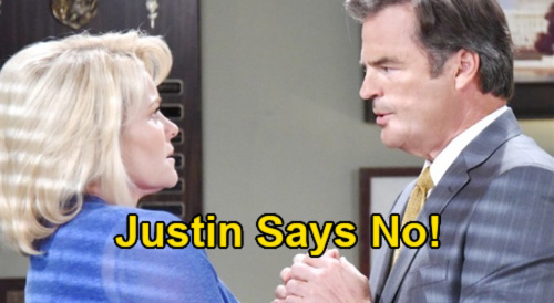 Days of Our Lives Spoilers: Justin Rejects Bonnie's Marriage Proposal – Heartbreak for Wannabe Bride