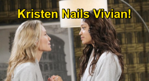 Days of Our Lives Spoilers: Kristen Breaks Vivian Case Wide Open - Helps Eli & Lani Solve Twin Kidnapping