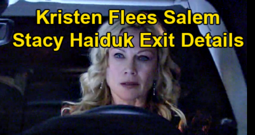Days of Our Lives Spoilers: Kristen Escapes Police Custody & Flees Salem – Stacy Haiduk Exit Details