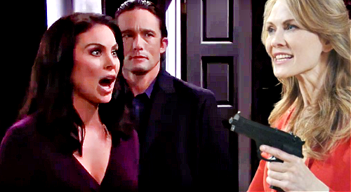 Days of Our Lives Spoilers: Kristen Threatens to Shoot Chloe - Armed and Dangerous After Prison Escape