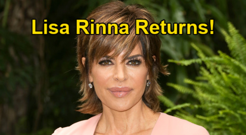 Days of Our Lives Spoilers: Lisa Rinna Reprises Billie Reed Role For Globetrotting Stolen Jewels Search