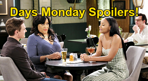Days of Our Lives Spoilers: Monday, August 23 – Paulina Humiliates Chanel, Johnny Date Disaster – EJ & Xander Team Up