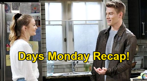 Days of Our Lives Spoilers: Monday, February 22 Recap - Vivian Goes Vampire - Allie & Tripp Bond - Claire Records Charlie