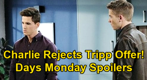 Days of Our Lives Spoilers: Monday, January 18 – Allie's Hypnosis Works – Charlie Rejects Tripp's Offer - Xander & Lani's Twins