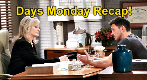Days of Our Lives Spoilers: Monday, July 5 Recap – Ben Traps Ciara, Locks Wife in Apartment – Greedy Paulina Defends Dirty Trick
