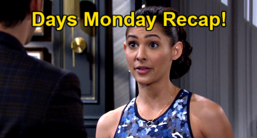 Days of Our Lives Spoilers: Monday, June 14 Recap – Chloe Chooses Philip – EJ Threatens Xander – Jake Delays Dumping Kate