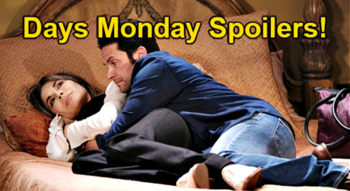 Days of Our Lives Spoilers: Monday, June 21 – Jake & Kate Awkward in Bed - Brady's Xander Discovery – Chloe's Job Offer