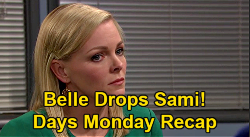 Days of Our Lives Spoilers: Monday, March 8 Recap - Rolf's Drug Stash - Ava Meets Henry - Belle Quits On Sami