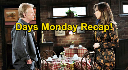 Days of Our Lives Spoilers: Monday, May 3 Recap – Ben's Angry Meltdown – Gwen Blames Baby Killer Abigail – Kristen Drugs Kate