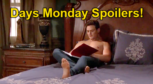 Days of Our Lives Spoilers: Monday, September 13 – Johnny's Proposal for Marlena – EJ & Xander Hotel Scrap – Abigail's Decision