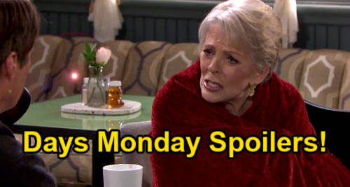Days of Our Lives Spoilers: Monday, September 6 – Jack Rescues Terrified Julie – Ben's Past Haunts – Trapped Bonnie Scrambles