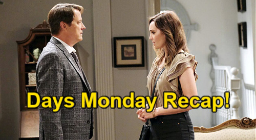 Days of Our Lives Spoilers: Monday, September 6 Recap – Ben Postpones Baby – Bonnie Held at Gunpoint - EJ Explodes
