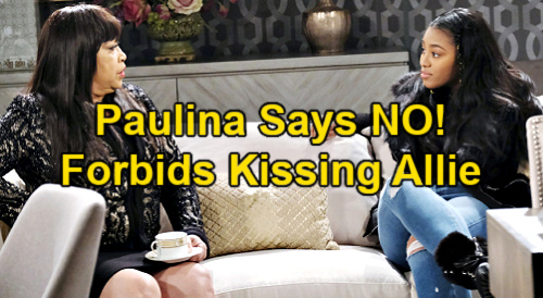 Days of Our Lives Spoilers: Paulina Freaks Over Chanel & Allie's Kiss – Mom Upset Over Secrets Daughter's Been Keeping