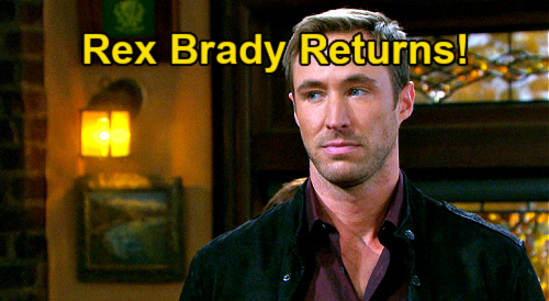 Days of Our Lives Spoilers: Rex Brady Returns, Kyle Lowder Back to DOOL – Sarah's Ex Home to Shake Things Up