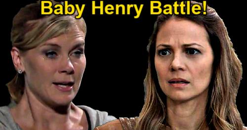 Days of Our Lives Spoilers: Sami vs Ava - Grandmas Battle Over Charlie's Mom Visiting Baby Henry?