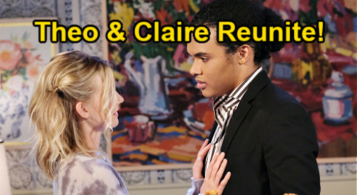 Days of Our Lives Spoilers: Theo Reunites With Claire After Ciara Returns to Ben?