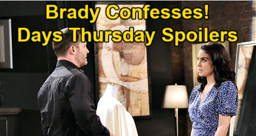 Days of Our Lives Spoilers: Thursday, April 22 – Ciara Cuts Ben Deeper - Vivian's Vicious Threat – Brady Confesses Feelings