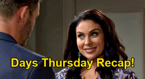 Days of Our Lives Spoilers: Thursday, April 22 Recap – Ben's Promise Moves Ciara to Tears - Kate Faces Island Captivity
