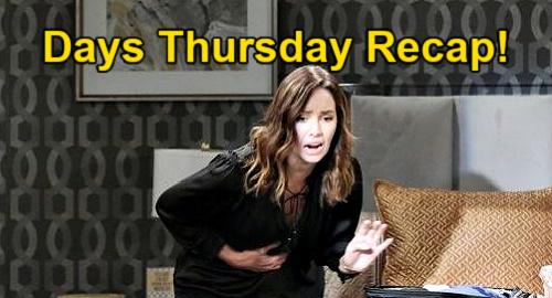 Days of Our Lives Spoilers: Thursday, April 29 Recap – Gwen's Horrible Baby Cramps – Jack's News Stuns Jennifer