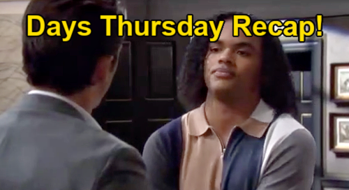Days of Our Lives Spoilers: Thursday, August 19 Recap – Ciara's Surprise Visit to Make Amends - Claire's Job in South Africa