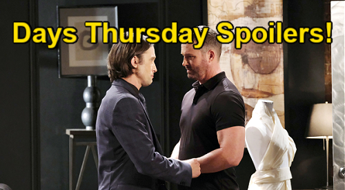 Days of Our Lives Spoilers: Thursday, August 26 – Bonnie & Justin's Wedding Cake Disaster – Philip's Jealous Rage