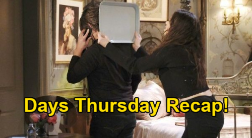 Days of Our Lives Spoilers: Thursday, February 4 Recap - Ciara Knocks Rhodes Out - Susan's Premonition - Eli & Lani Find Twins