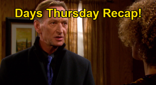 Days of Our Lives Spoilers: Thursday, January 14 Recap - Dr. Raynor Hands Ivan The Twins - Gwen Makes Abigail & Chad Cry