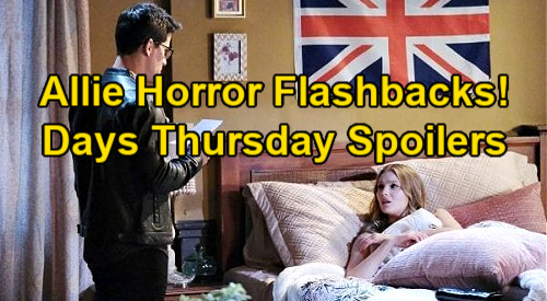 Days of Our Lives Spoilers: Thursday, January 28 – Ciara Returns – Ben's Confession – Allie's Horrifying Charlie Flashbacks
