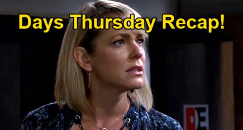 Days of Our Lives Spoilers: Thursday, July 22 Recap – Ben's Getaway Driver Surprise for Ciara – Nicole Destroys Sami