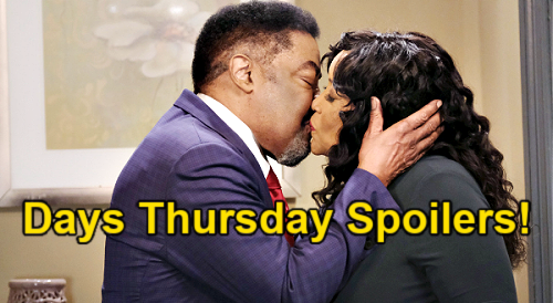 Days of Our Lives Spoilers: Thursday, June 17 – Rafe Warns Ben About Ciara – Claire's Confession - Paulina & Abe Kiss