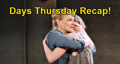 Days of Our Lives Spoilers: Thursday, June 3 Recap – Ben Saves Claire from Fire – Abe Accuses Paulina - Chanel's New Bakery