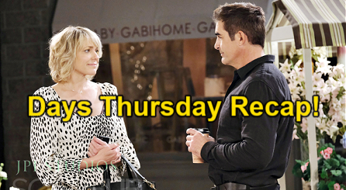 Days of Our Lives Spoilers: Thursday, May 13 Recap – Jake & Gabi Say 'I Love You' Before Kate's Bedroom Bust
