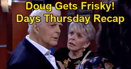 Days of Our Lives Spoilers: Thursday, September 16 Recap – Doug Needs MRI After Grabbing Paulina's Behind