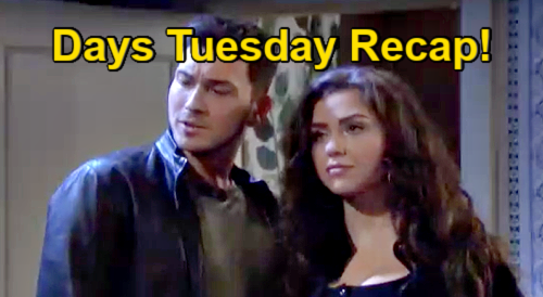 Days of Our Lives Spoilers: Tuesday, August 31 Recap – Bo & Hope Poetry - Allie Trashes Johnny - Brady Gets Iced