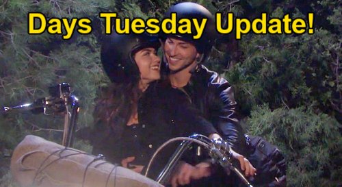 Days of Our Lives Spoilers: Tuesday, August 31 Update – Shawn's Amazing Wedding Present – Ben & Ciara's Motorcycle Adventure