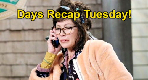 Days of Our Lives Spoilers: Tuesday, February 9 Recap - Kristen & Susan To Trade Places - Laura's Lifeless Body