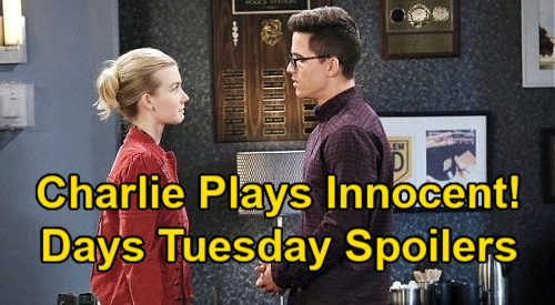Days of Our Lives Spoilers: Tuesday, January 12 – Claire's Plea to Charlie – Shawn & Belle's Horror – Ava Spills on Son