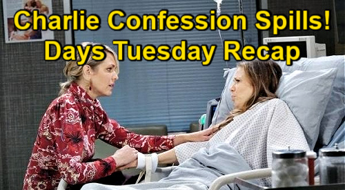 Days of Our Lives Spoilers: Tuesday, January 12 Recap - Ava Recalls Charlie's Confession - Devastating Truth Stuns Claire