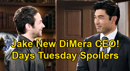 Days of Our Lives Spoilers: Tuesday, January 19 – Gabi's Big Surprise – Li Shin Fires Chad, Promotes Jake – Eli Quizzes Xander
