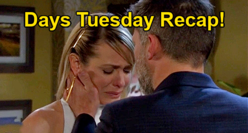 Days of Our Lives Spoilers: Tuesday, July 20 Recap – Nicole Sobs Over End of Eric Marriage – Sami Confesses Xander Scheme to EJ
