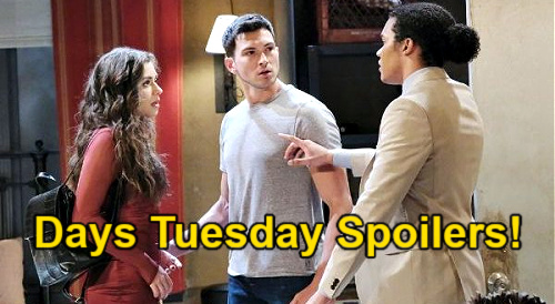 Days of Our Lives Spoilers: Tuesday, July 6 – Theo Saves Ciara, Blasts Ben – Chanel & Allie's Next Kiss – Paulina's Lame Excuse