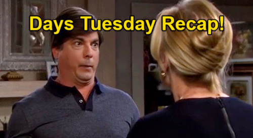 Days of Our Lives Spoilers: Tuesday, June 1 Recap – Xander Busted for Theft – Lucas Insults 'Snake' Gabi – Nicole's Discovery