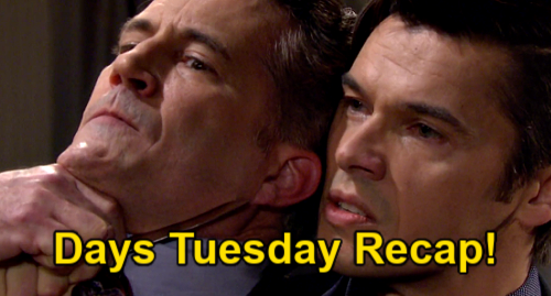 Days of Our Lives Spoilers: Tuesday, June 22 Recap – Dr. Snyder's Fatal Heart Attack – Tripp Exposes Stolen Drug Operation